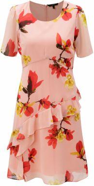 7ec267775c2e Ružové bodkované zavinovacie šaty VERO MODA Henna značky Vero Moda ...
