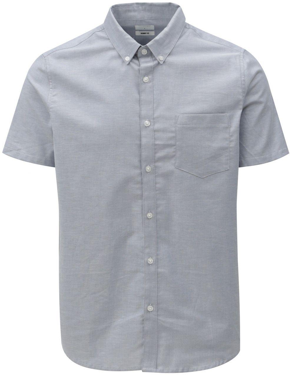 fafb2c7157f4 Svetlomodrá skinny fit košeľa Burton Menswear London značky Burton ...