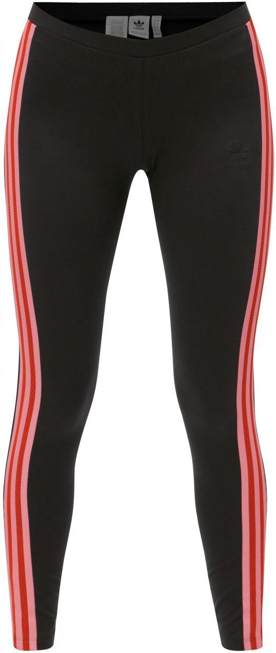 b7aaa69e073d Čierne dámske legíny s pruhmi adidas Originals značky adidas Originals -  Lovely.sk