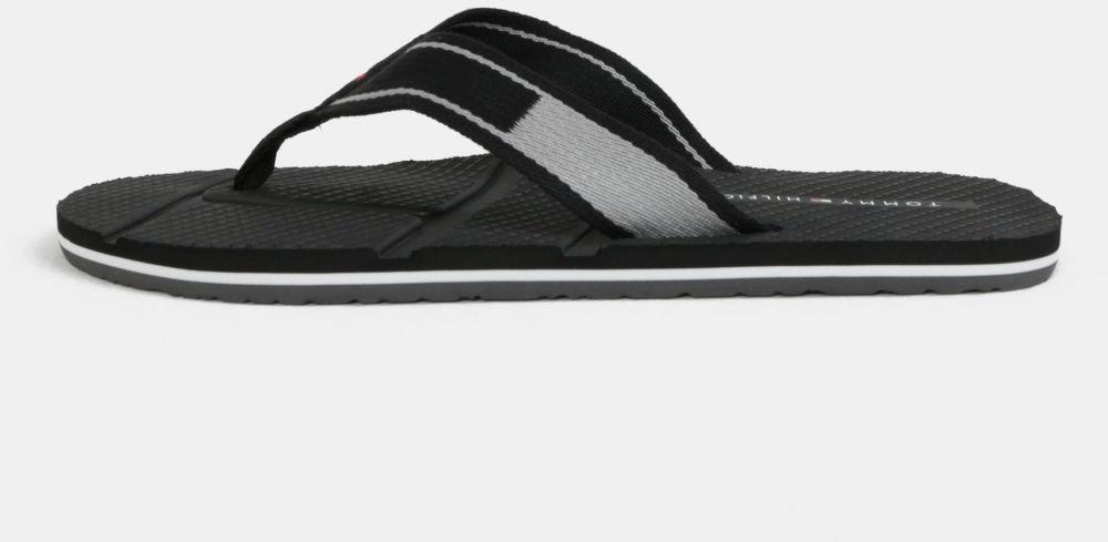 Sivo-čierne pánske žabky Tommy Hilfiger značky Tommy Hilfiger ... 5aae54e8c6
