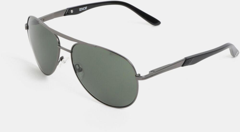 Zeleno-sivé pánske slnečné okuliare Dice značky Dice - Lovely.sk 4c0aea2b52f