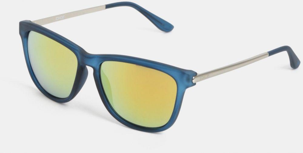 Modré pánske slnečné okuliare so zrkadlovými sklami Dice značky Dice ... 2490038b8cd
