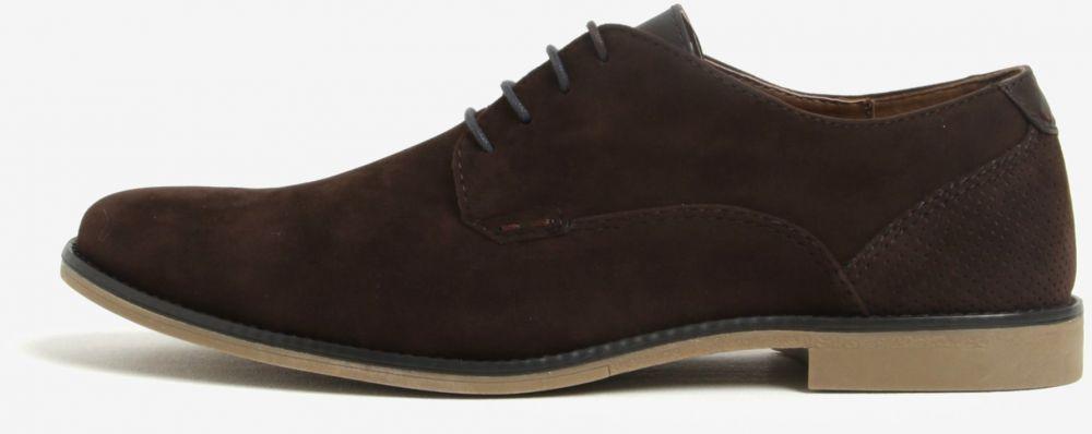 b68443cfc1 Hnedé pánske poltopánky v semišovej úprave Burton Menswear London značky Burton  Menswear London - Lovely.sk
