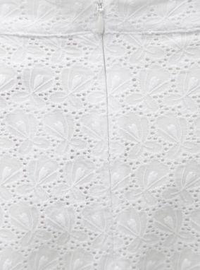 f9b8adec9152 Biela áčková sukňa s čipkou s.Oliver značky s.Oliver - Lovely.sk