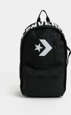 679af499f4 Čierny batoh s potlačou Converse EDC Poly 19 l značky Converse ...