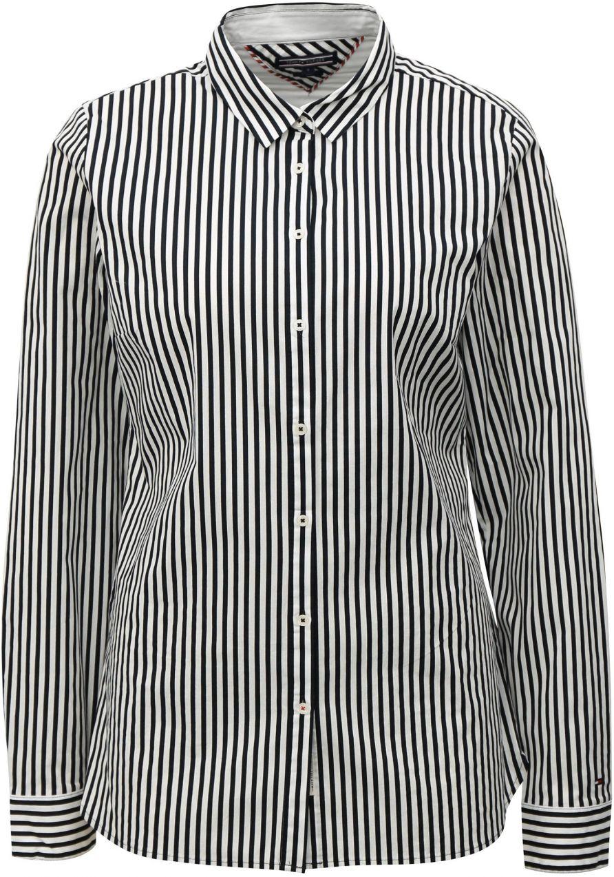 Čierno-biela dámska pruhovaná košeľa Tommy Hilfiger značky Tommy ... 85f1d1b18a0