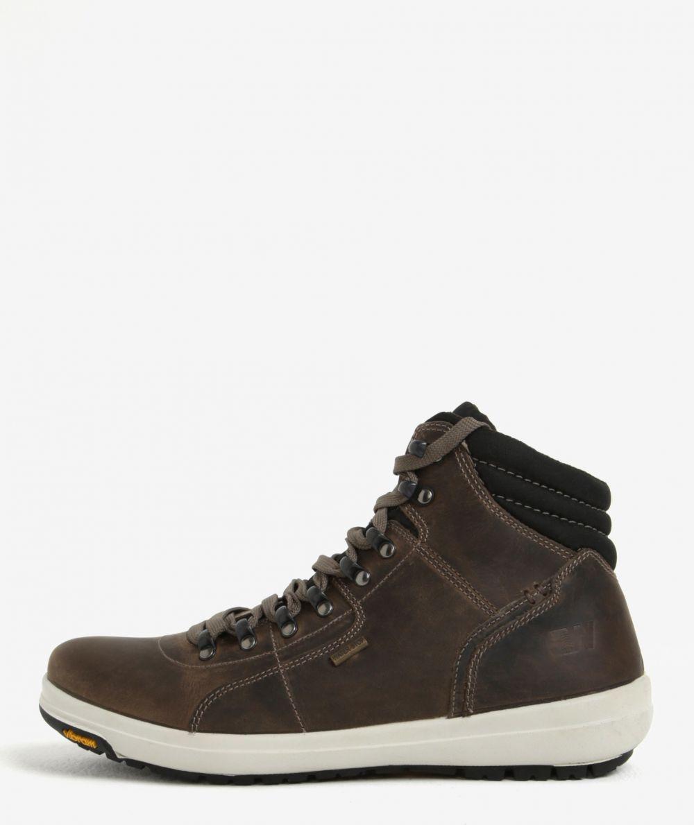 e7277ddcdd025 Hnedé pánske členkové vodovzdorné kožené topánky Weinbrenner značky  Weinbrenner - Lovely.sk