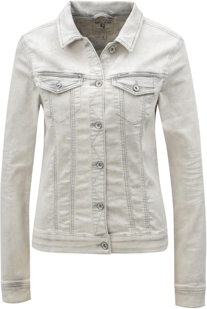 145fe81182cc Svetlosivá dámska rifľová bunda Garcia Jeans Sofia značky Garcia Jeans -  Lovely.sk