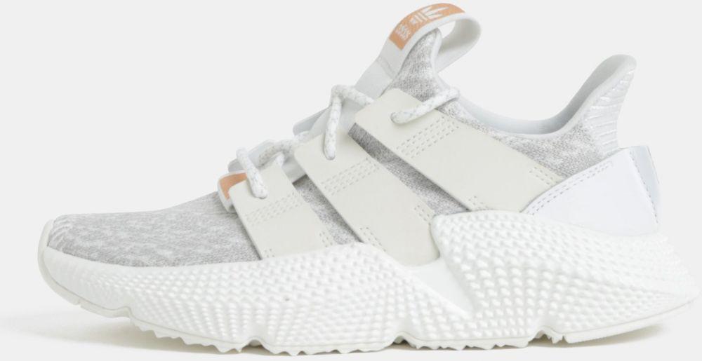 Sivo-biele dámske tenisky adidas Originals PROPHERE značky adidas ... f1dab349d8a