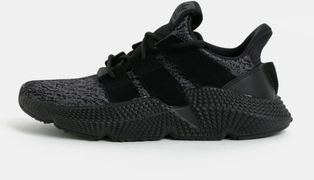 Sivo-čierne pánske tenisky adidas Originals PROPHERE značky adidas ... f45e7ba2056