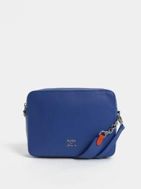 Modrá kožená kabelka ELEGA 50c1ef60379