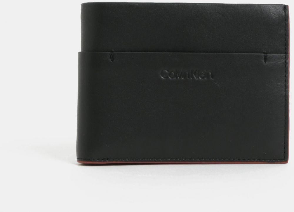 b427e904d0 Čierna pánska kožená peňaženka Calvin Klein Jeans značky Calvin Klein Jeans  - Lovely.sk