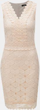 Ružové čipkované šaty Dorothy Perkins f337d54ed17