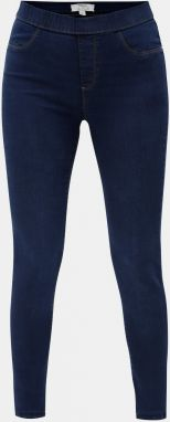 Tmavomodré jeggings Dorothy Perkins Tall