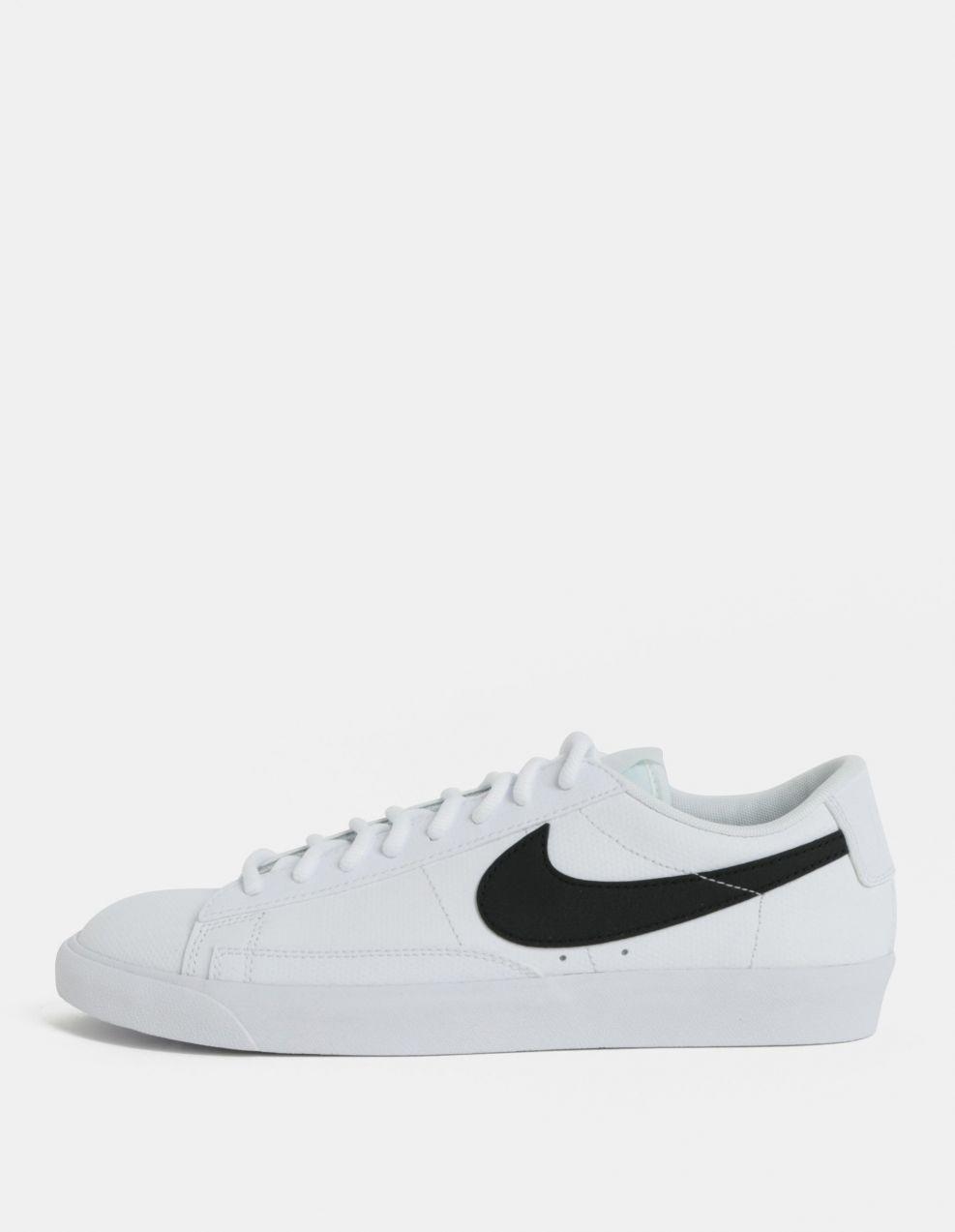 21198088e109 Biele pánske kožené tenisky Nike Blazer Low značky Nike - Lovely.sk