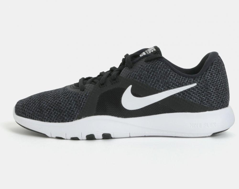 ddb2bcda2a Zeleno–čierne dámske tenisky Nike Flex trainer 8 značky Nike - Lovely.sk