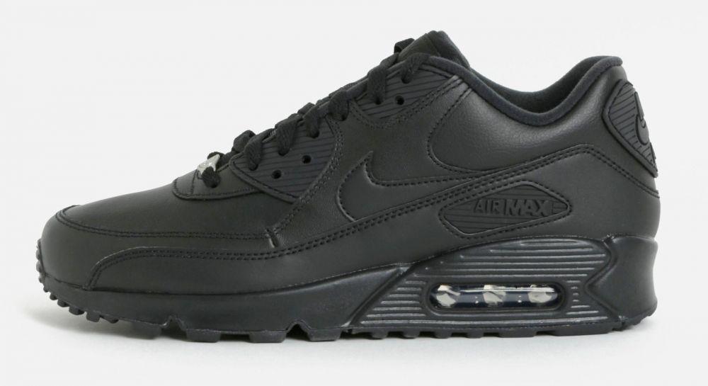 6cc7a234d4a Kaki pánske kožené tenisky Nike Air Max  90 Leather značky Nike - Lovely.sk