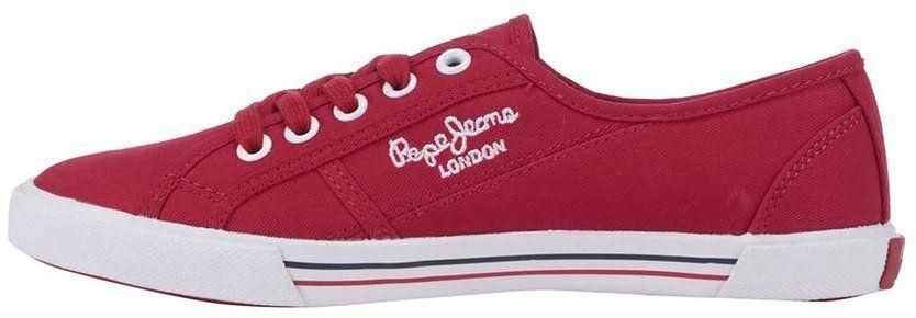 Červené dámske tenisky Pepe Jeans značky Pepe Jeans - Lovely.sk ad59b0c1c1