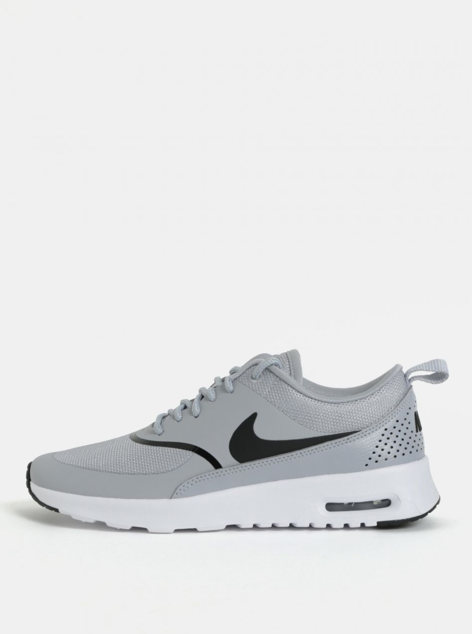 Sivé dámske tenisky Nike Air Max Thea značky Nike - Lovely.sk 99da18e37d0