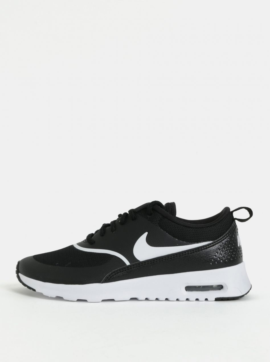 f27f85d83e156 Čierne dámske tenisky Nike Air Max Thea značky Nike - Lovely.sk
