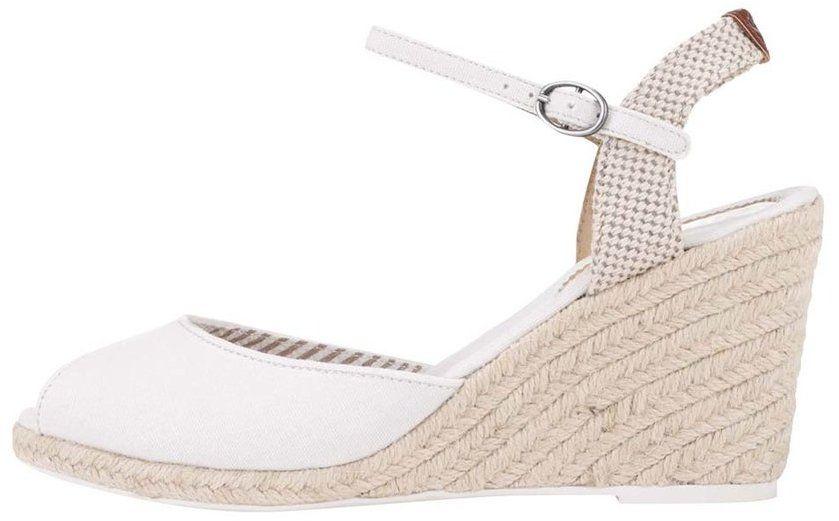 f1300bcfd8 Biele dámske sandále na klinovom podpätku Pepe Jeans značky Pepe Jeans -  Lovely.sk