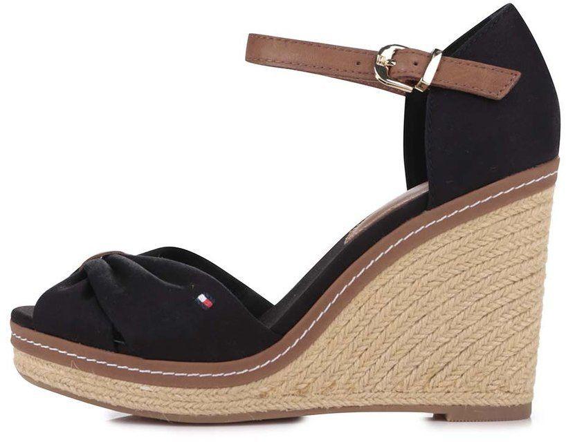 682c76e3ae7a Čierne dámske topánky na platforme Tommy Hilfiger značky Tommy Hilfiger -  Lovely.sk