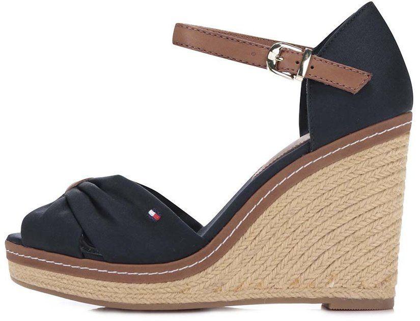 967b211726892 Tmavomodré dámske topánky na platforme Tommy Hilfiger značky Tommy ...