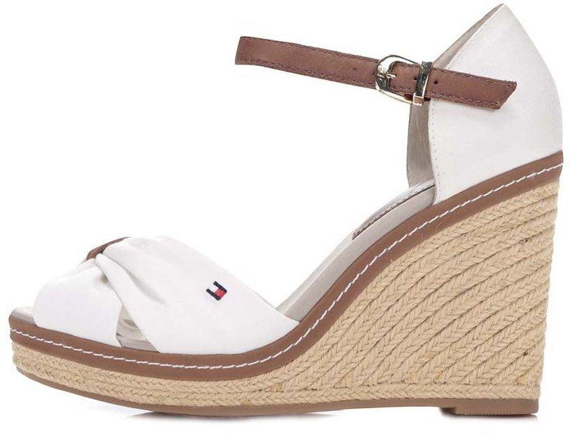 b4faddc59a8a Biele dámske topánky na platforme Tommy Hilfiger značky Tommy ...