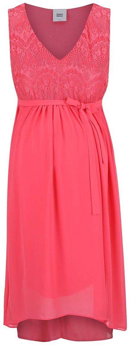 7de7916221ea Ružové tehotenské šaty Mama.licious Disa značky Mama.licious - Lovely.sk