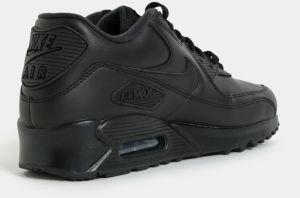 Čierne pánske kožené tenisky Nike Air Max  90 Leather značky Nike ... 5f5195729b2