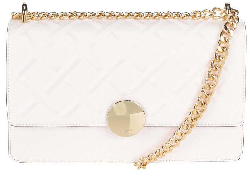ad38e0fe00 Biela kabelka s retiazkovým popruhom v zlatej farbe ALDO Pygmy značky ALDO  - Lovely.sk