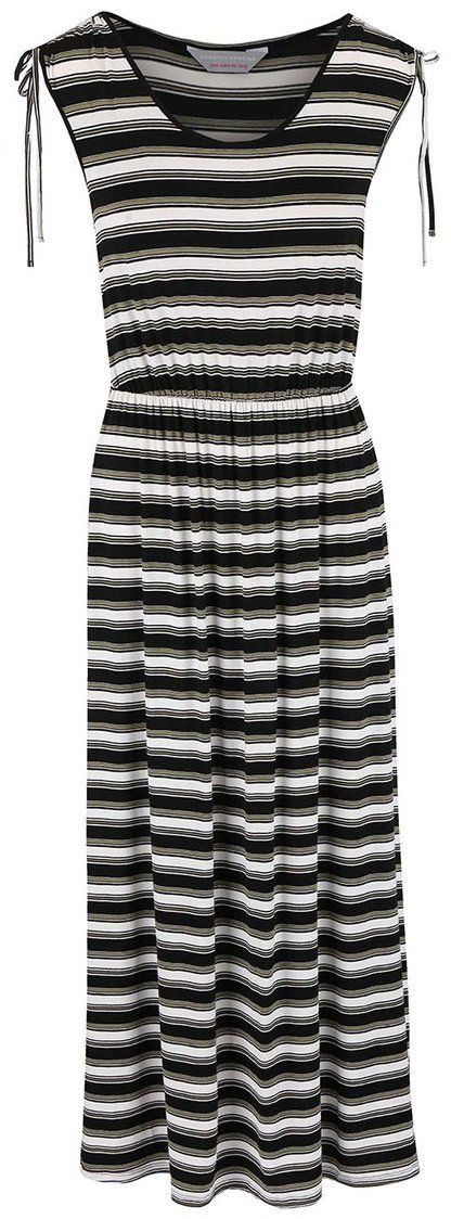 93ff4139c Bielo-čierne šaty so zelenými pruhmi Dorothy Perkins Petite značky Dorothy  Perkins Petite - Lovely.sk