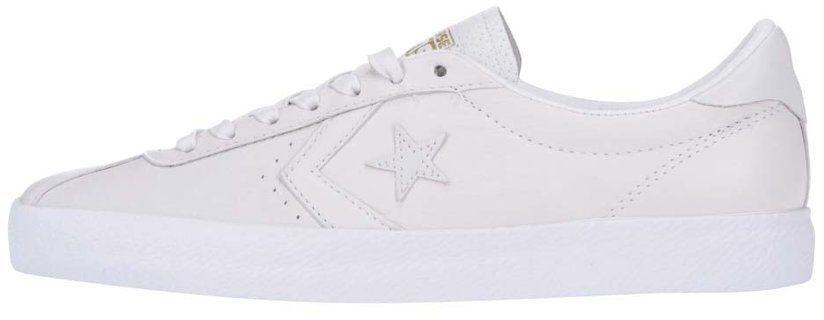 4556e09c6b Biele pánske kožené tenisky Converse Breakpoint značky Converse - Lovely.sk