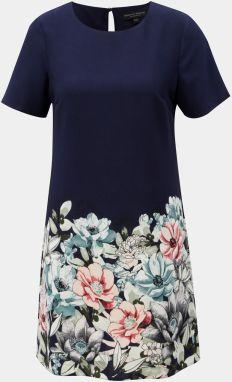 ff6620f510dd Ružovo–modré vzorované šaty Dorothy Perkins značky Dorothy Perkins ...