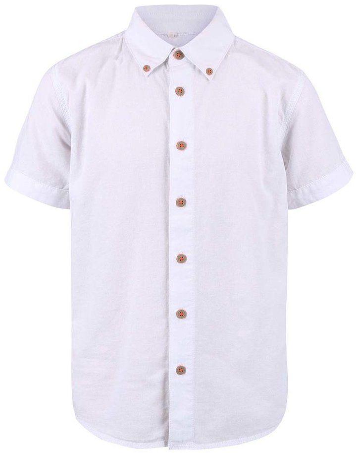 c079ce54713d Biela chlapčenská košeľa s krátkym rukávom name it Gerbert značky name it -  Lovely.sk