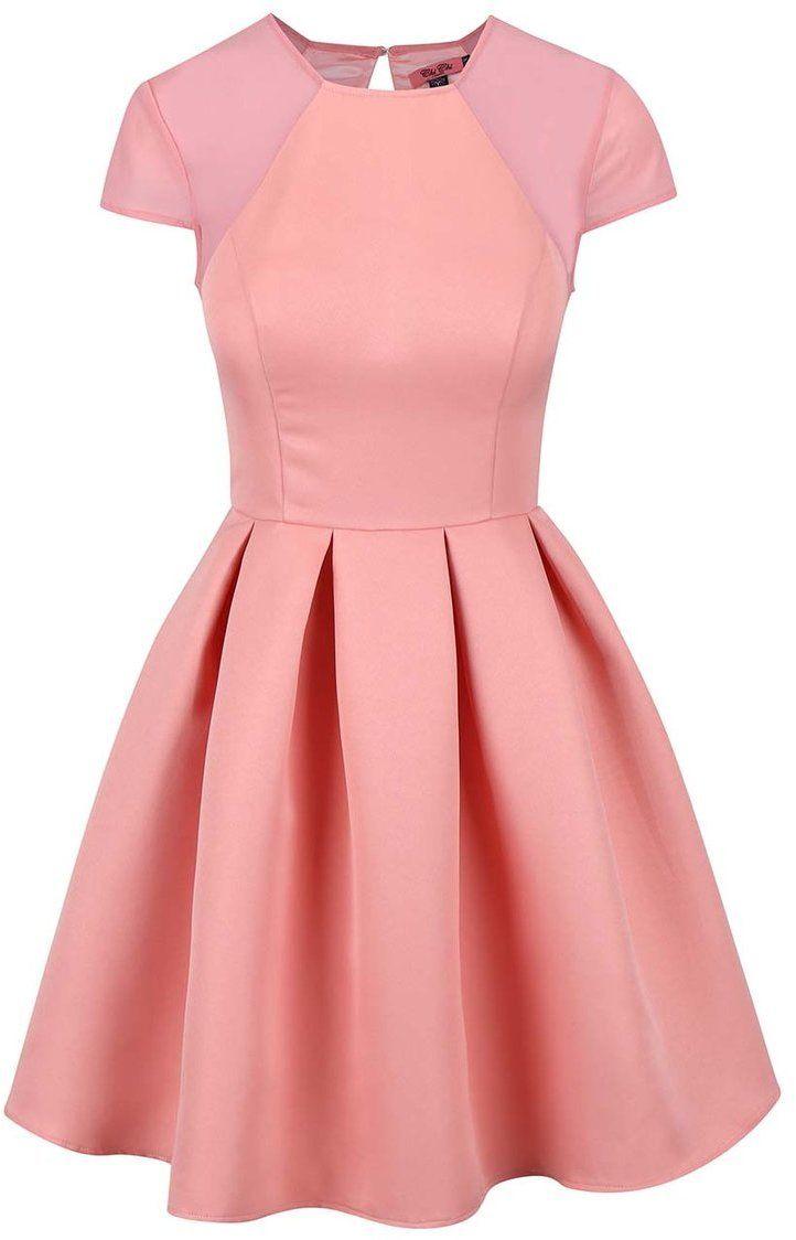 d1c2fa804bda Staroružové šaty so skladanou sukňou Chi Chi London India značky Chi Chi  London - Lovely.sk