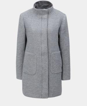 Svetlosivý vlnený kabát Yest 0815279258c