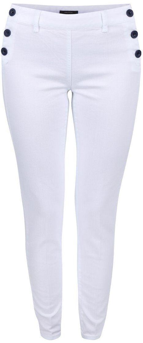 4ffafdbad3 Biele dámske nohavice s gombíkmi Nautica značky Nautica - Lovely.sk