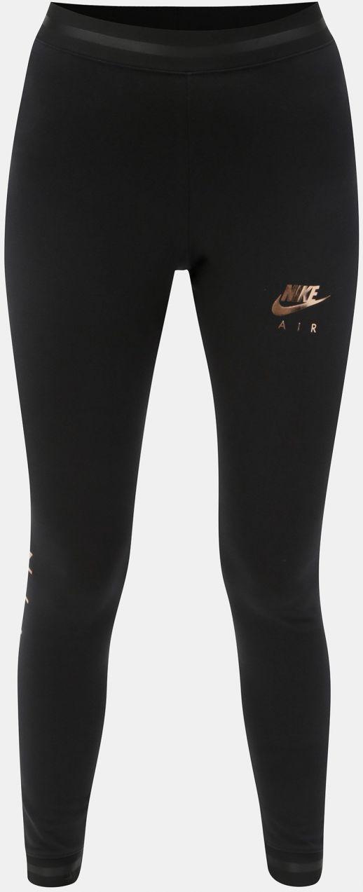 877e1732d647 Čierne dámske legíny s potlačou Nike Air značky Nike - Lovely.sk