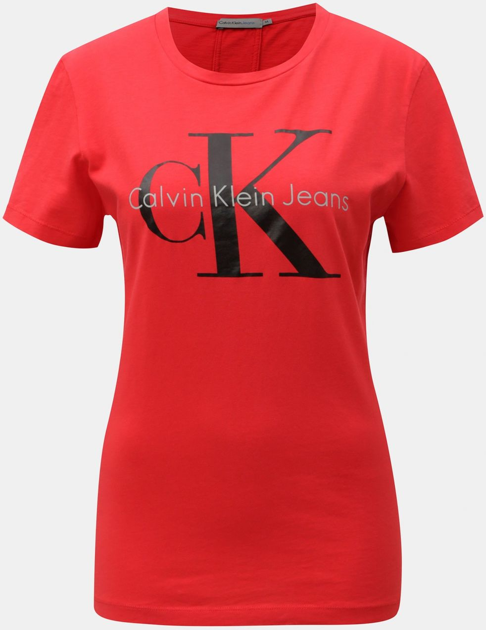 15343f9ecaed Červené dámske tričko s potlačou Calvin Klein Jeans značky Calvin Klein  Jeans - Lovely.sk