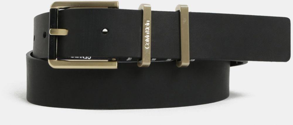 e6f970fd8 Čierny dámsky kožený opasok Calvin Klein Jeans značky Calvin Klein Jeans -  Lovely.sk