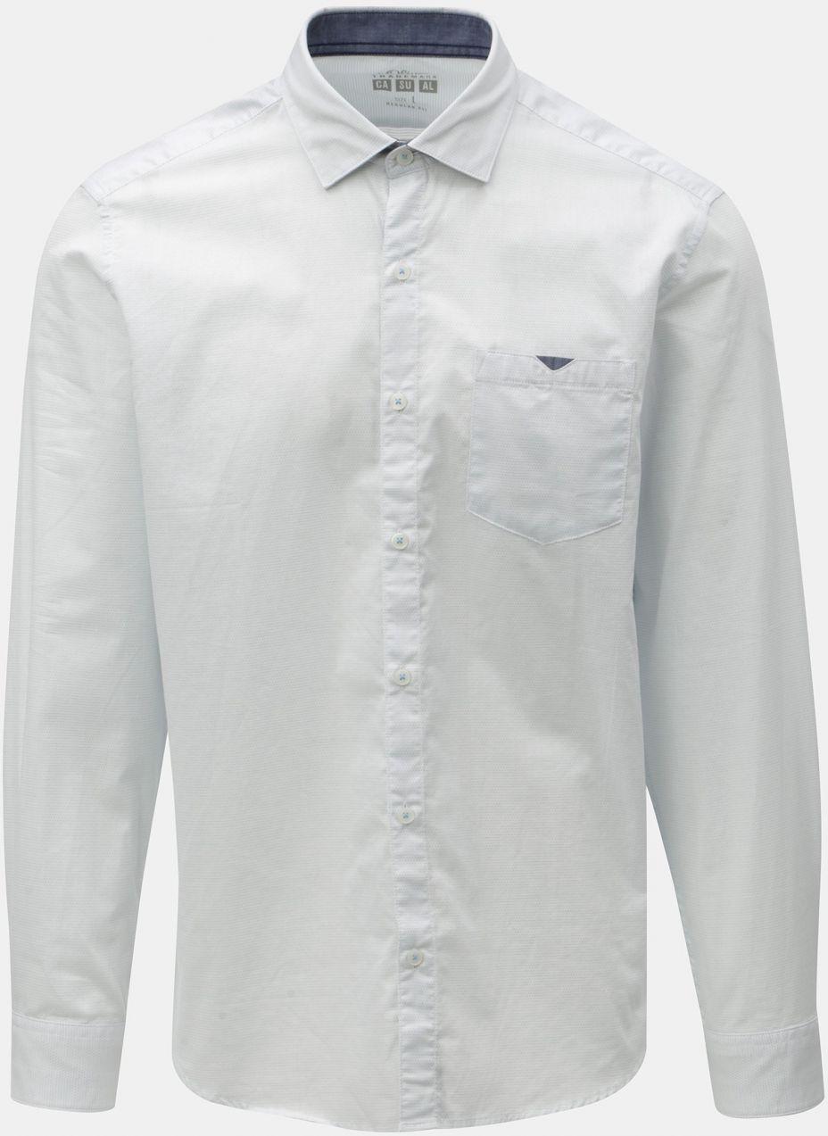 cf3bb2031dbe Biela pánska bodkovaná regular fit košeľa s.Oliver značky s.Oliver ...