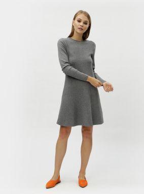 63202aa47ab3 Vero Moda Pletené šaty »GLORY NINKA« Vero Moda antracitová ...