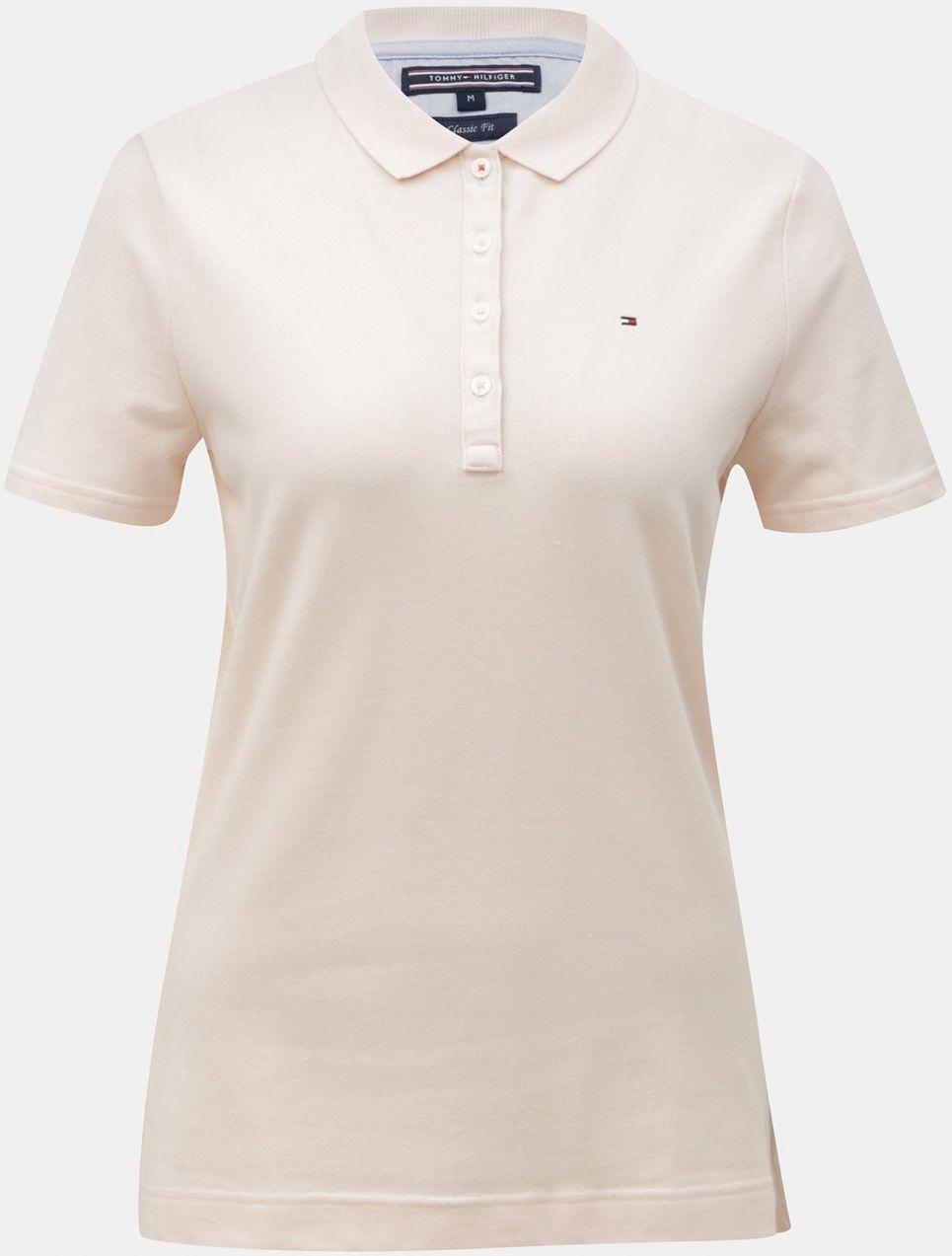 Svetloružové dámske polo tričko Tommy Hilfiger značky Tommy Hilfiger ... 36e8ed39eee