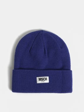 3a22c3b4c218 Modrá vlnená čiapka Moss Copenhagen Mojo
