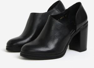 c85693b08dbfa Čierne dámske kožené topánky na vysokom podpätku Royal RepubliQ galéria