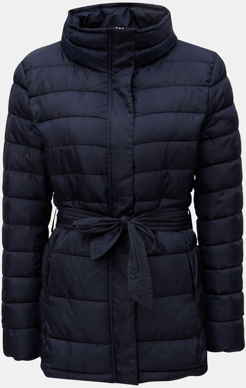 58ef2d71c4 Tmavomodrá zimná prešívaná bunda Jacqueline de Yong Harper značky ...