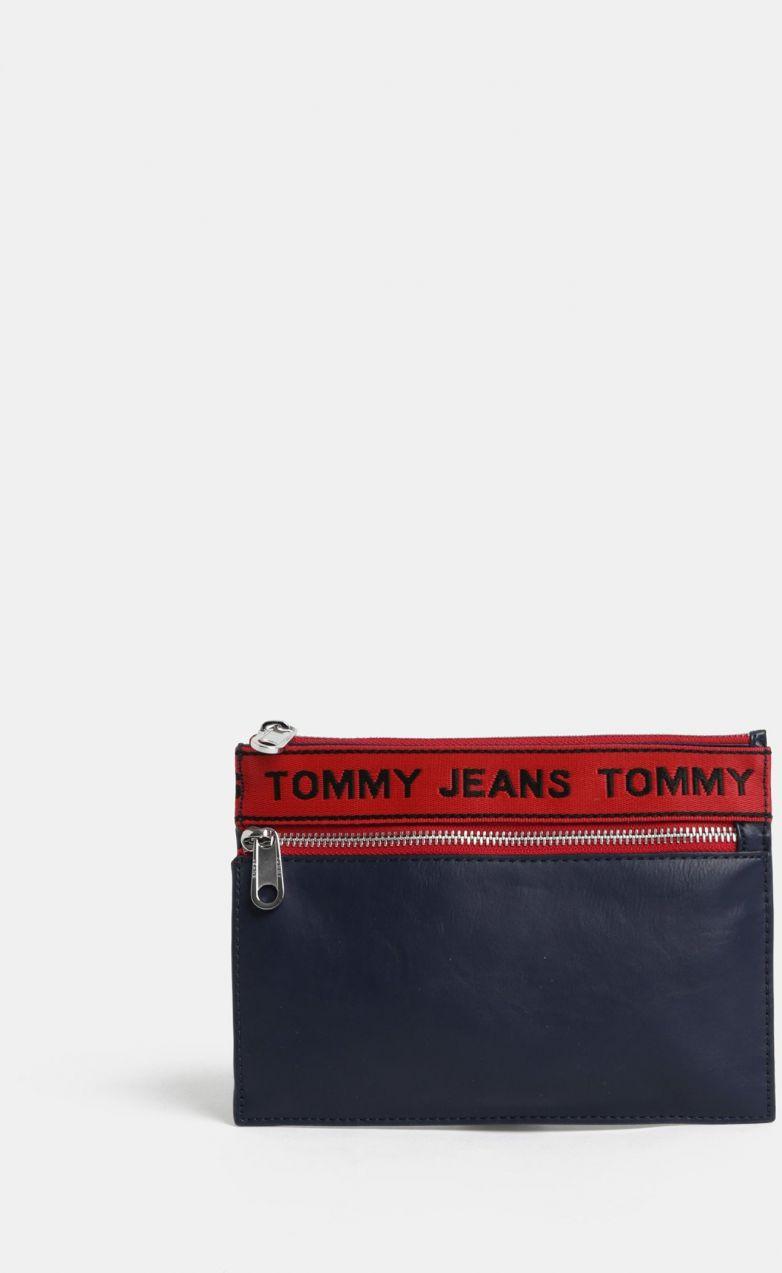 2bb3800f42 Tmavomodrá listová kabelka puzdro Tommy Hilfiger Tape značky Tommy Hilfiger  - Lovely.sk