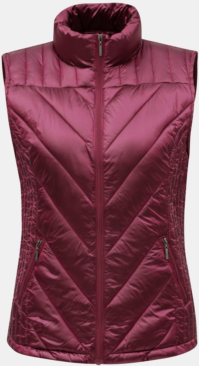 Ružová prešívaná vesta Yest značky Yest - Lovely.sk 2421249fc23