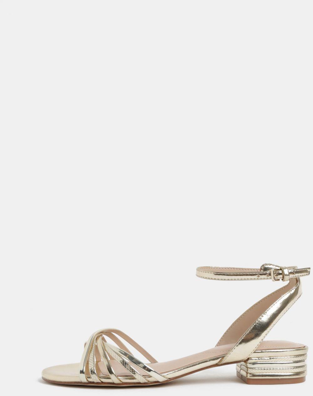 e120c1491b50 Dámske sandále v zlatej farbe ALDO značky ALDO - Lovely.sk